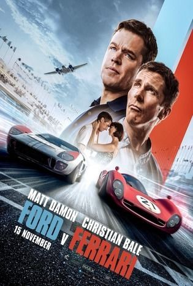 Movie Ford V Ferrari Le Mans 66 2019 Cast Video Trailer Photos Reviews Showtimes