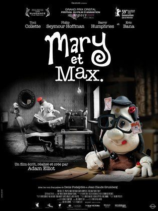 Movie Mary And Max 2009 Cast Video Trailer Photos Reviews Showtimes